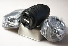 Nikon Lens AF-S DX Zoom-Nikkor 55-200mm f/4-5.6G SWM IF-ED w/ Hood & Case 466236