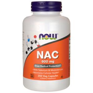 Now Foods, NAC, 600 mg, 100 Veg Capsules , N-A-C  N-ACETYL CYSTEINE.