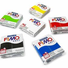 FIMO Soft Polymer Modelling Clay Starter Set of 6 x 57g Clays - Starter Colours