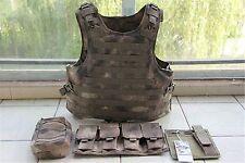 A-TACS Combat Tactical Soft Bullet proof vest IIIA NIJ0101.06 Size:M