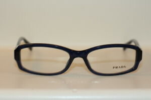 NEW WITHOUT TAGS EYEGLASSES FRAME MODEL VPR10N SIZE 53-16-135 PRADA CODE OAX-101