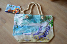 XXL Tasche ♥ große Strandtasche ♥ Sporttasche Badetasche Shopper NEU Liegestuhl