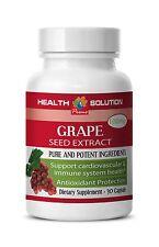 Cardiovascular Benefit - Grape Seed Extract 90% 150mg - Wine Grape Seeds Caps 1B