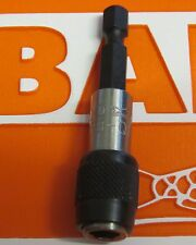 """BAHCO QUICK CHANGE  1/4"""" HEX SCREWDRIVER BIT HOLDER LOOSE FROM SET"""