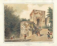 España. Andalucía. Granada. «Puerta del Juicio de la Alhambra»