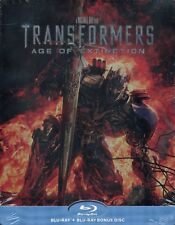 TRANSFORMERS AGE OF EXTINCTION - Blu Ray Steelbook...X2 Blu Ray Discs -