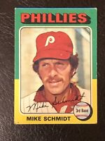 1975 Topps Mike Schmidt Card #70 VG-EX HOF Philadelphia Phillies