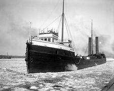 1910c Photograph of the Steamship Freighter Oceanica  8x10