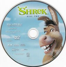 *REPLACEMENT* Shrek (DVD, 2001, Disc 2, Widescreen) **DISC ONLY**