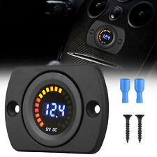 DC 12V-24V LED Panel Digital Voltage Meter Display Voltmeter for Car Motorcycle
