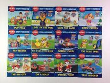 Paw Patrol Phonics Childrens Step Reading Books Beginning Readers Lot 12