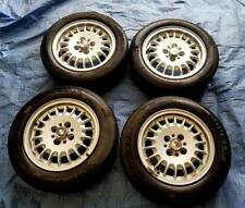 """BMW 3 Series, E36 14"""" Alloy Wheels PCD 4x100mm 6Jx14H2 ET35 + Staggered Tyres"""