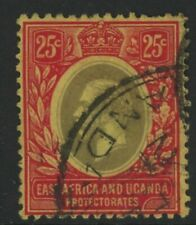 EAST AFRICA & UGANDA, USED, #60, NICE CENTERING
