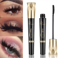 4D Silk Fiber Eyelash Mascara Extension Makeup Black Waterproof Kit FREE SHIP
