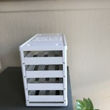 YouCopia  Spice Stack 24 Bottle Spice Organizer Rack Shelf White