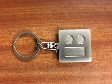Stainless Steel Square Keychain Accessory