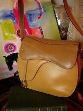 RARE Vintage GUCCI Equestrian Purse SADDLE  KELLY Handbag Purse Bag Accessory GG