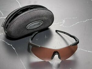 Beretta Challenge Shooting Safety Glasses Vermillion W/ Case