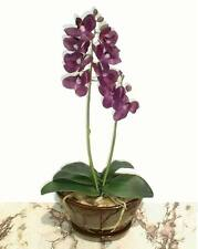 """Butterfly Orchid - 19"""" (48cm) - Artificial Real Touch Flower, Imitation Plant"""