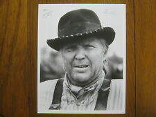 ANTHONY  ZERBE   The Young Riders/Harry O  Signed   B & W  Glossy  8 X 10  PHOTO