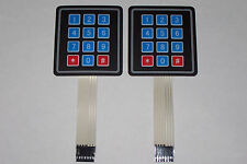 2PCS 4x3 Matrix Array 12 Key Membrane Switch Keypad, Arduino/AVR/PIC USA SHIP !