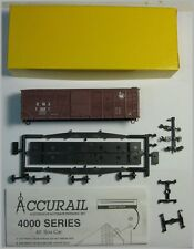 Accurail 4216 HO Scale 40' O B Box Steel Ends Car Kit Central of NJ #18091  NOS