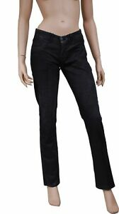 jeans noir femme coupe slim LEVIS 1036 taille W 30 ( T 40 )