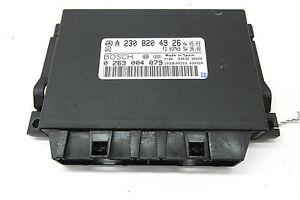 2004-2006 MERCEDES BENZ SL600 R230 OEM PARKTRONIC MODULE UNIT