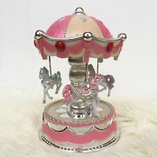 Luxury Carousel Music Box Crown Design Musical box
