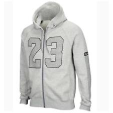 Men's Nike Air Jordan 23 Full Zip Hoodie 853849-063 Grey Heather Size L