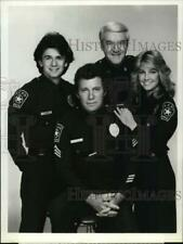 """1982 Press Photo Cast of """" T.J. Hooker"""" Television Series on Abc-Tv - syp23042"""