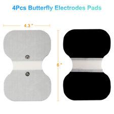 "4PCS Unit Pads 4.3""x6"" Electrodes For Tens 7000 EMS 3.5mm snap connector"