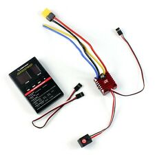 Hobbywing QuicRun WP Crawler Whaterproof Brushed 80A ESC Program Card XT60 Plug