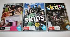 Skins The Complete Series 1,2 & 3 Dvds