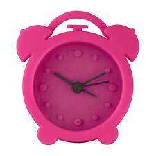 Hama Mini Silicone Travel / Home Alarm Clock Cerise Pink #123142 (UK Stock) BNIP