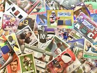 FOOTBALL CARD LOTS MIN. 5 HITS AUTO RELIC VINTAGE ROOKIE #'ED FREE SHIPPING GIFT