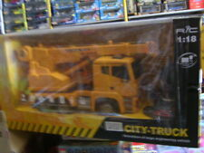 CITY-TRUCK AUTOGRU DA CANTIERE R/C 1:18