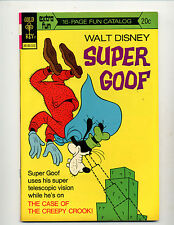 """SUPER GOOF #28  [1973 FN-]  """"THE CASE OF THE CREEPY CROOK!"""""""