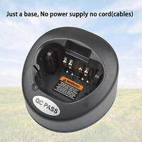 Only Base no power supply for Motorola XTS2500 Handheld Battery Charger