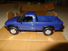 1994 Chevrolet S-10 4x4 truck promo model. Purple metallic. AMT #6115. 94 Chevy