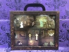 Disney Haunted Mansion Room For One More 6 Pin Luggage Stained Glass Boxed Set