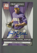 2009 DONRUSS ELITE SCHOOL COLORS AUTOGRAPH AUTO JARED MITCHELL RC 034/100 LSU