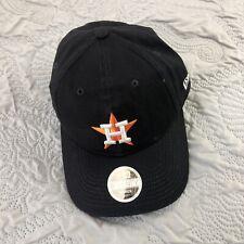 New Houston Astros New Era Adjustable Strap Baseball Hat Black