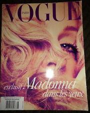 Vogue Paris 8/2004 Madonna Daria Werbowy Gemma Ward Debbie Harry Blondie French