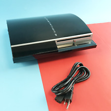 Ps3 Sony Playstation 3 Model - Cechk01 160Gb Black Game Console #6511