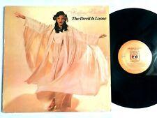 ASHA PUTHLI – The Devil Is Loose -1976 Disco funk Space Talk CBS 81443 / VG+/VG+