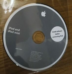 IPod And IPod Mini Installation Disc CD - 2004