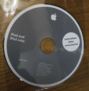 IPod And IPod Mini Installation Disc CD - 2004