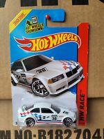 HotWheels 2014 - BMW E36 M3 RACE [WHITE] NEAR MINT VHTF CARD GOOD COMBINED POST
