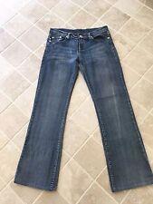 Womens, Victoria Beckham by R&R Rock & Republic Denim Jeans, Size 28 Blue